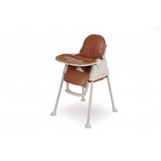 Kikka Boo High chair Creamy Brown