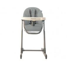 Kikka Boo Детски стол за хранене Gourmet сив