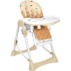 Kikka Boo High chair Ice cream beige