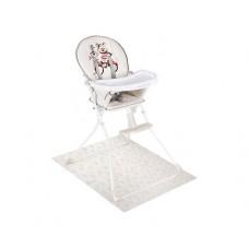 Kikka Boo Детски стол за хранене Be Happy Bear с предпазна подложка