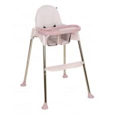 Kikka Boo High chair Sky-High, pink