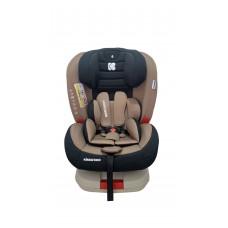 Kikka Boo Детски стол за кола 4 Strong с Isofix  0-36 kg Beige
