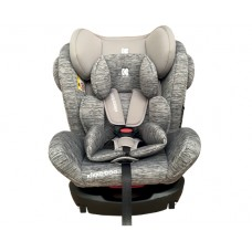 Kikka Boo Car seat 4 Fix 0-36 kg Light Grey Melange