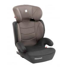 Kikka Boo Детски стол за кола Amaro Isofix 15-36 кг, кафяв
