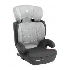 Kikka Boo Детски стол за кола Amaro Isofix 15-36 кг, светлосив