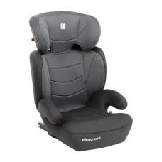 Kikka Boo Детски стол за кола Amaro Isofix 15-36 кг, тъмносив