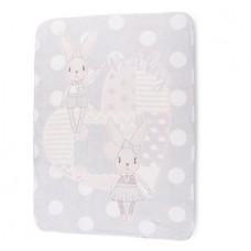 Kikka Boo Baby blanket Rabbit 110*140 cmgrey