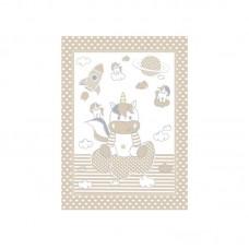 Kikka Boo Baby blanket Unicorn 80*110 cmbeige