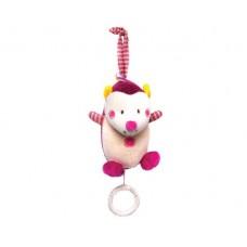 Kikka Boo Музикална играчка таралеж розова