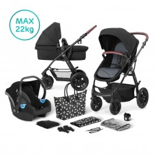 KinderKraft XMoov Travel System 3 in 1 black