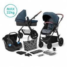 KinderKraft XMoov Travel System 3 in 1 blue
