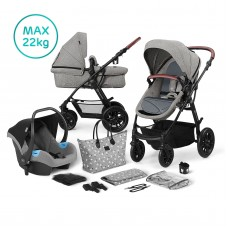 KinderKraft XMoov Travel System 3 in 1 grey
