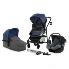 KinderKraft  Juli Travel System 2 in 1 blue