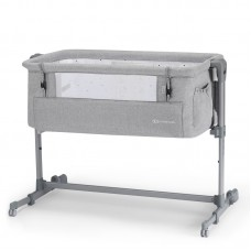 KinderKraft Baby cot Neste light grey melange