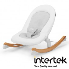 KinderKraft Finio Bouncy chair with rocker function, white