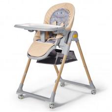 KinderKraft LASTREE 2 in 1 Baby High Chair, wood