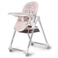 KinderKraft LASTREE 2 in 1 Baby High Chair, pink