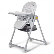 KinderKraft LASTREE 2 in 1 Baby High Chair, grey