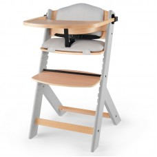 KinderKraft ENOCK high chair with cushion, grey
