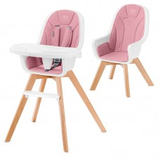 KinderKraft Tixi Baby High Chair pink