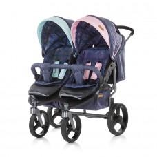 Chipolino Twin Stroller Twix boy/girl