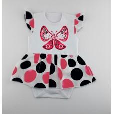 Комес Бебешко боди - рокля с пеперуда