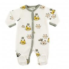 Komes Baby romper Cats