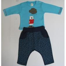Комес Бебешки комплект блуза и панталон
