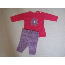 Комес Бебешки комплект блуза и клин
