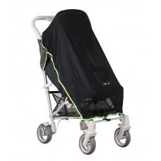 Koo-di Универсален сенник за бебешка количка с UV защита, черен