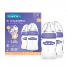 Lansinoh Feeding Bottle Set with NaturalWave 2x160 ml