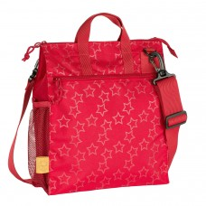 Lassig Changing bag Casual Buggy Reflective Star Red