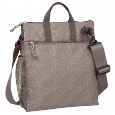 Lassig Changing bag Casual Buggy Reflective Star Brown