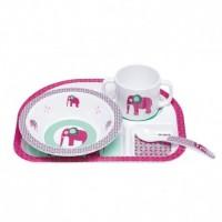 Lassig Dinner Set Wildlife Elephant