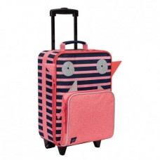 Lassig Детски куфар с колела Monsters Mad Mabel
