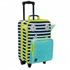 Lassig Детски куфар с колела Little Monsters