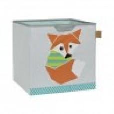 Lassig Toy Cube storage fox