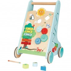 Lelin Toys Wooden Forest Activity Walker Toy