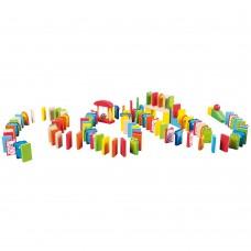 Lelin Toys Домино - Рали Животни 110 части