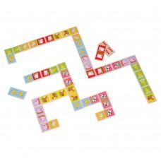 Lelin Toys Farm Animal Dominoes