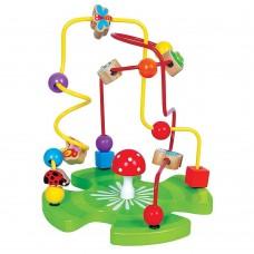 Lelin Toys Дървен лабиринт Градина