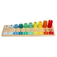 Lelin Toys Counting and Matching board 1-10