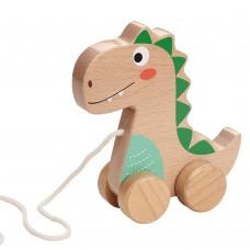 Lelin Toys Играчка за дърпане Добрият динозавър
