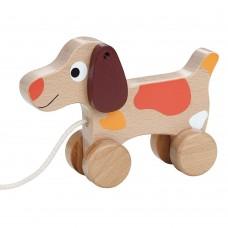 Lelin Toys Играчка за дърпане Кучето Цезар