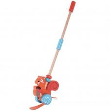 Lelin Toys Играчка за бутане Катеричка
