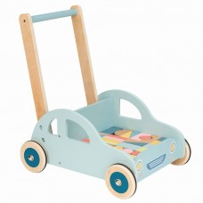 Lelin Toys Wooden Car Rider and Push