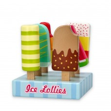 Lelin Toys Wooden Ice Lollies