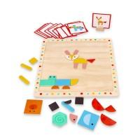Lelin Toys Magnetic Animals Set