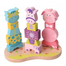 Lelin Toys Низанка Животните от фермата