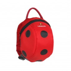 LittleLife Lady bug Toddler Backpack with Rein
